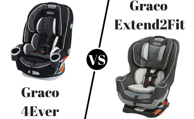 Graco 4Ever vs Graco Extend2Fit