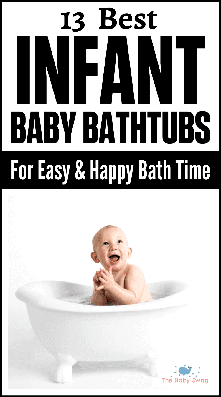 13 Best Infant Baby Bathtubs for Easy & Happy Bath Time