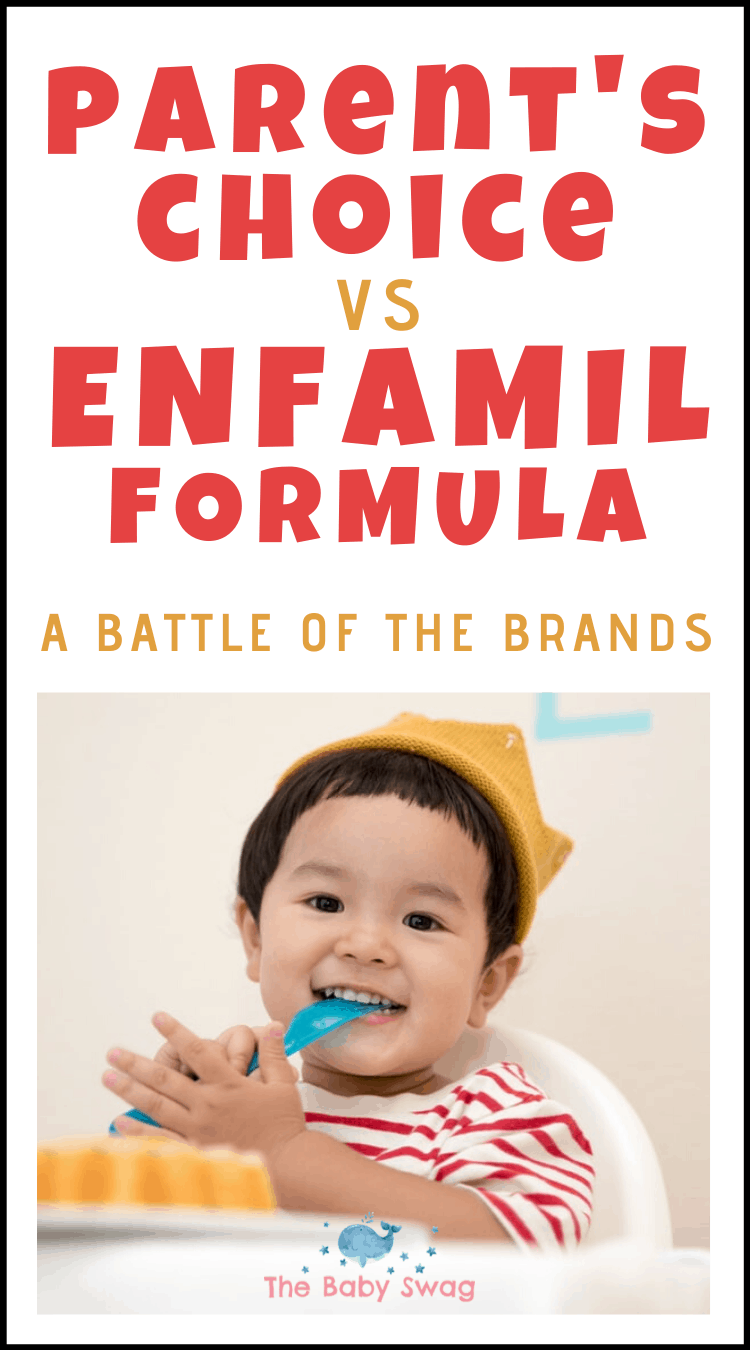 Parent's Choice vs. Enfamil Formula - A Battle Of The Brands