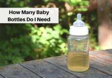How Many Baby Bottles Do I Need