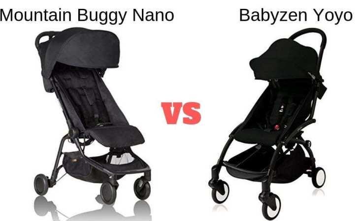 Mountain Buggy Nano vs Babyzen Yoyo
