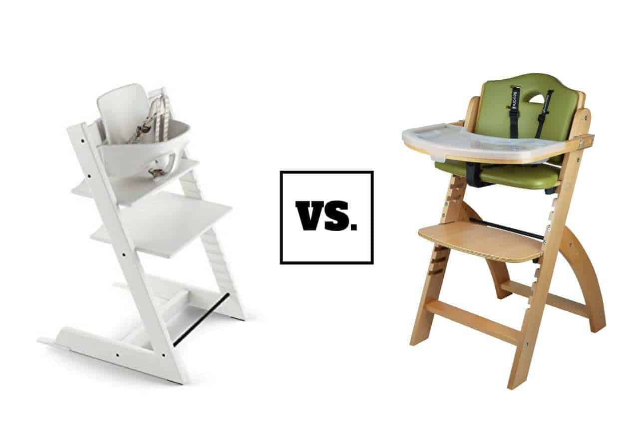 Stokke 2019 Tripp Trapp High Chair Vs Abiie Beyond Wooden High Chair