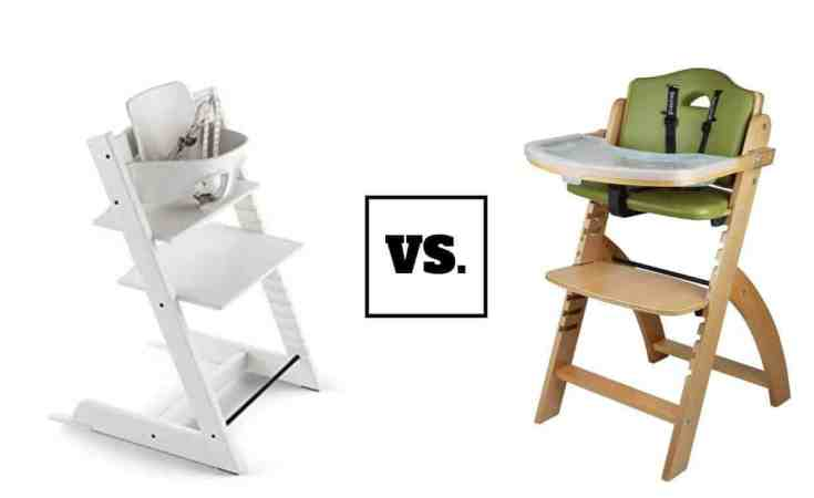 Stokke 2019 Tripp Trapp High Chair vs. Abiie Beyond Wooden High Chair