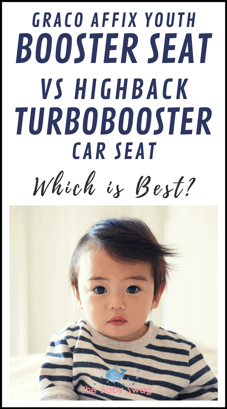 Graco Affix Youth Booster Seat vs Highback Turbobooster Car Seat - Which is Best?