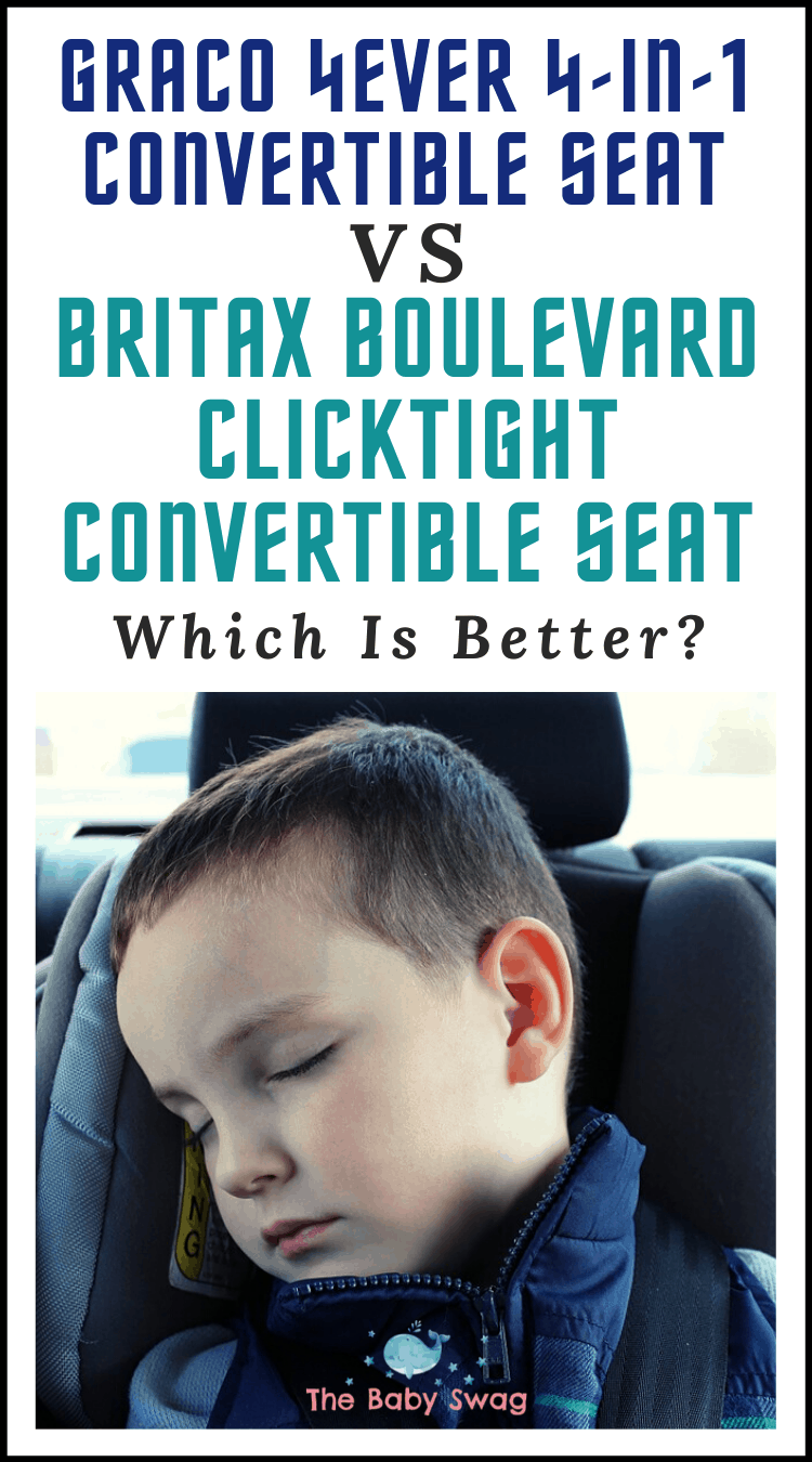 Graco 4Ever 4-in-1 Convertible Seat vs. Britax Boulevard ClickTight Convertible Seat - Which Is Better?