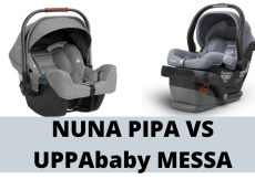 nuna pipa vs uppababy messa
