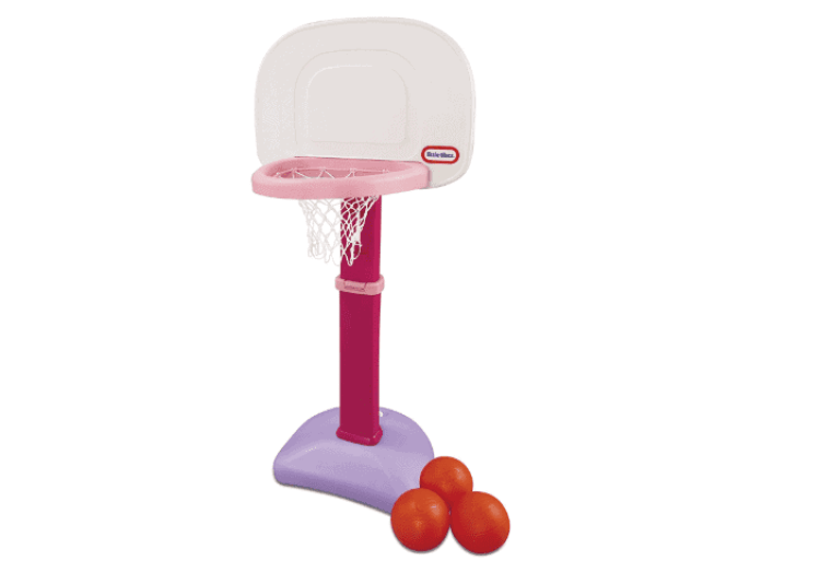 little tikes basketball set