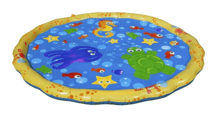 sprinkle splash mat
