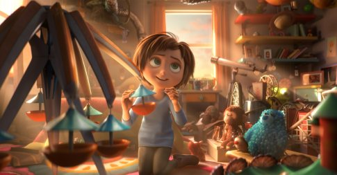 June in a scene from the animated film, WONDER PARK by Paramount Animation and Nickelodeon Movies