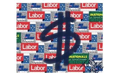 How Aus $ affects Aus votes