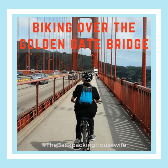 Biking the Golden Gate