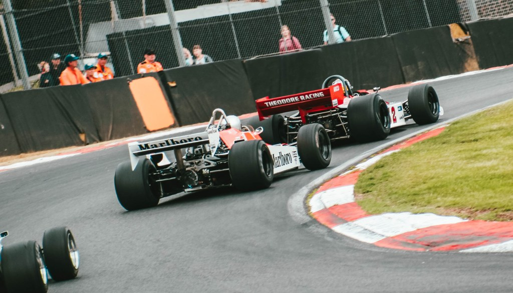 McLaren MP4/1 and Theodore Racing Formula One Car