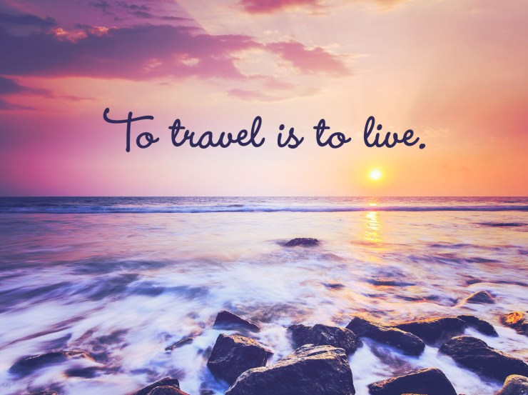 Free Inspirational Travel Desktop & Phone Wallpaper