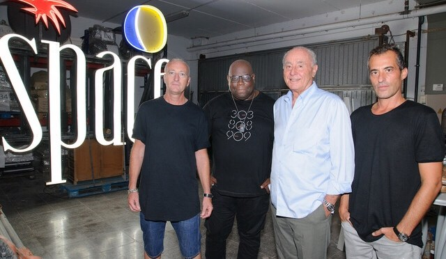 Space Ibiza announces new partnership with Carl Cox and 3 of the biggest players in Ibiza