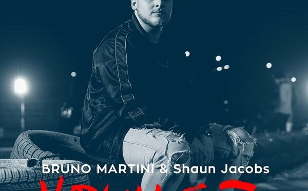 BRUNO MARTINI RELEASES 'YOUNGR' (FEAT. SHAUN JACOBS), PRODUCED BY MARTINI & TIMBALAND