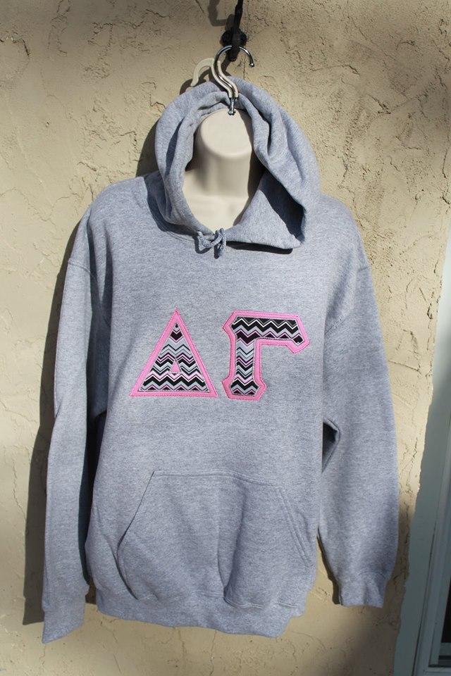 Greek gray hoodie