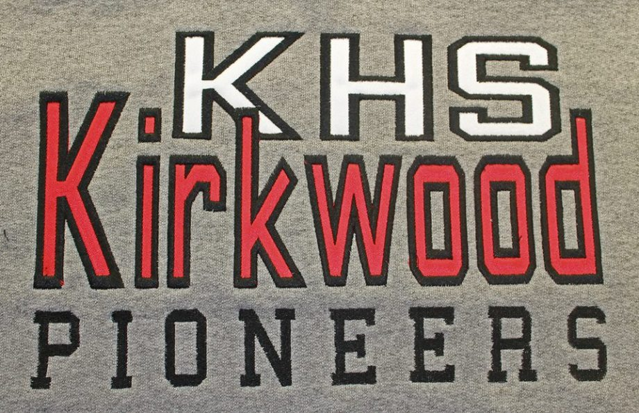 Team stitching- Kirkwood 2