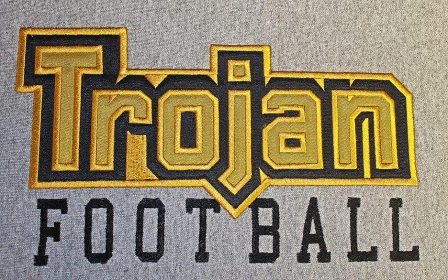 Team stitching- Trojan