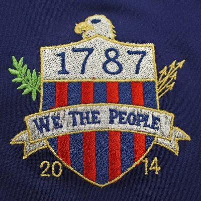 We The People stitching