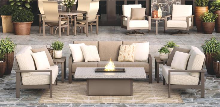 elements cushion patio furniture series