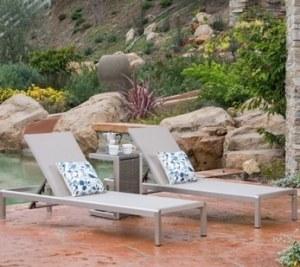 pool chairs set