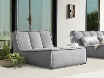 arhaus porto lounger luxury chair