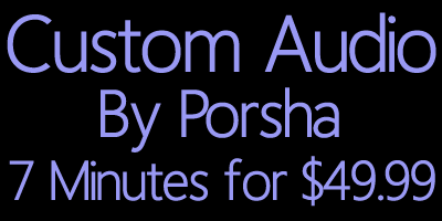 Buy Custom Fetish Audio from Porsha via NiteFlirt!
