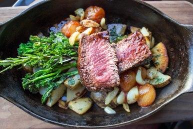 Roast Lamb at TART Restaurant in Los Angeles, CA