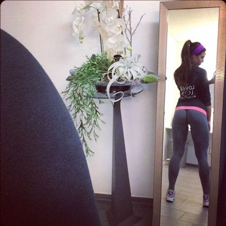 Badchix Some Tight Yoga Shorts you have to Check out 5
