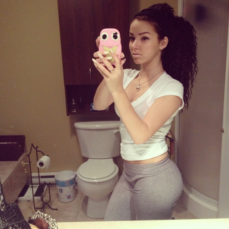 Badchix Some Tight Yoga Shorts you have to Check out 34