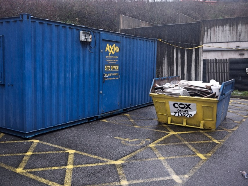 Skip on Disabled Parking Space