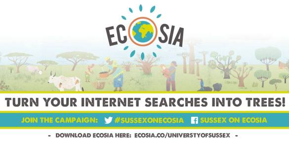 New campaign Sussex on Ecosia