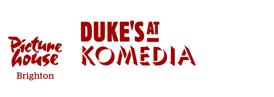 Dukes at Komedia Brighton Red Logo CMYK
