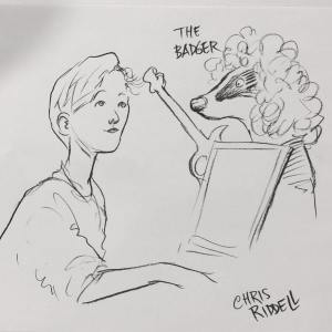 Chris Riddell Illustrates for Students at University of Sussex Library