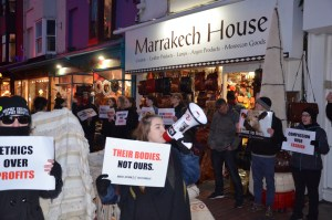Direct Action Everywhere: DxE protests continue