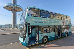 Brighton buses become the first in the UK to run in zero emission mode