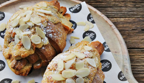 Image of our Almond Croissants are the ultimate sweet breakfast pastry. Imagine adding almonds to our buttery , tasty and flaky croissants? Yeah, too good to be true... our almond croissant is one of our bestsellers.
