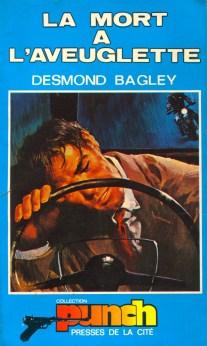 Desmond Bagley Running Blind - French Presse de la cité Punch Collection PB Imp.