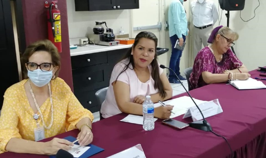 Ante diputadas Gricelda Rodríguez y Mari Vilalobos sector salud asume compromiso de mejora en combate a COVID19
