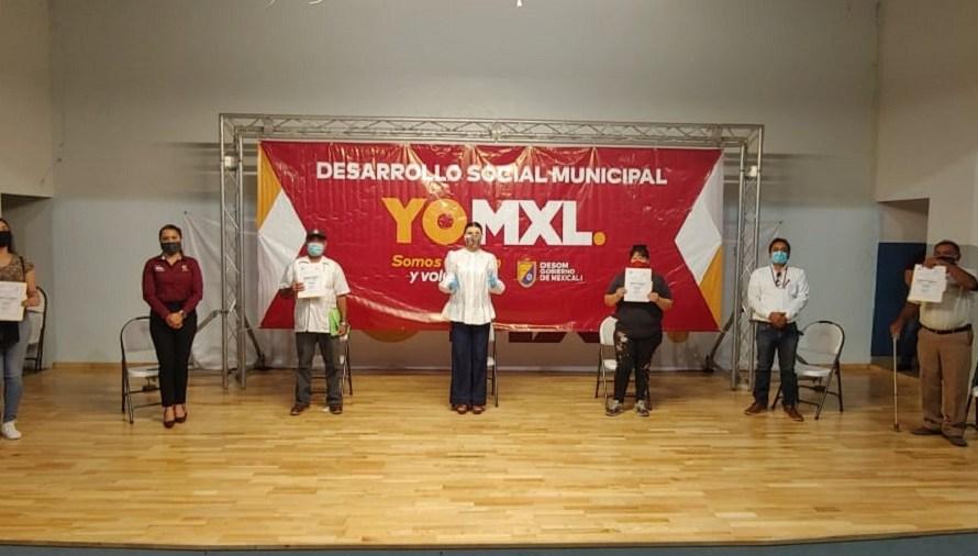 Apoya Ayuntamiento de Mexicali con 5 MDP a más de 2 mil comerciantes ambulantes