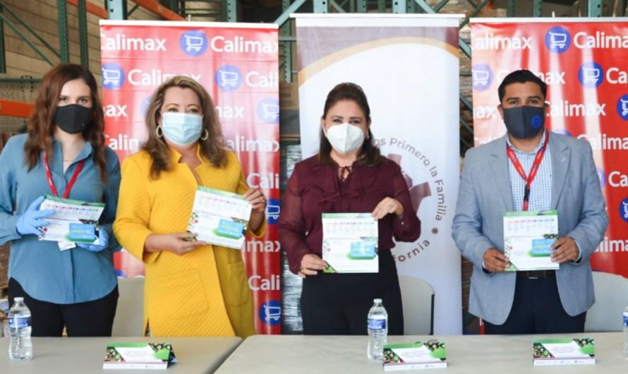Donativo de 16 mil tarjetas de despens al DIF de Baja California de conocida cadena de supermercados en Tijuana