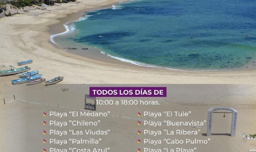 Buscan evitar saturación en playas de Los Cabos, para evitar cierre de actividades