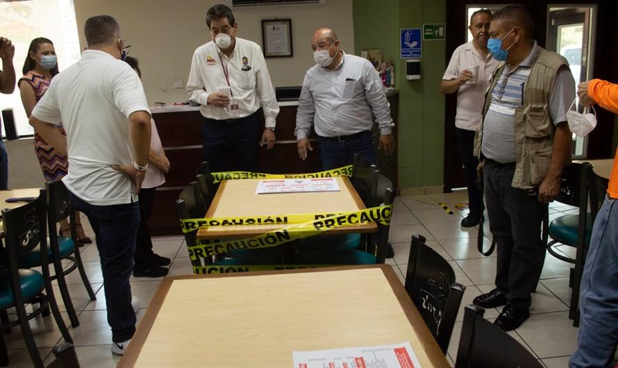 Intensifican medidas de sanidad en restaurantes de Mexicali, en espera de la reapertura