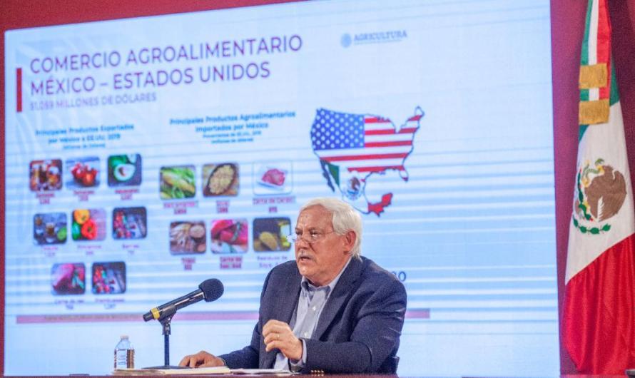Apoyará T-MEC reactivación económica ante crisis por pandemia COVID19: Secretario de Agricultura