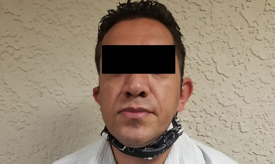 State Guard agents in Mexicali, arrested a man who was caught in the act trying to abuse a minor