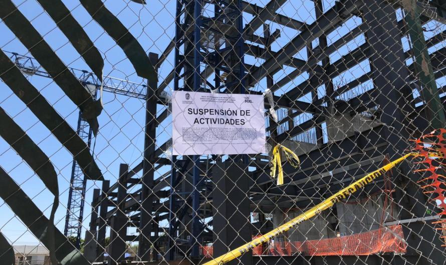 Cancelan construcción de torre mayor en Mexicali, bloqueaba una vialidad y le faltan licencias
