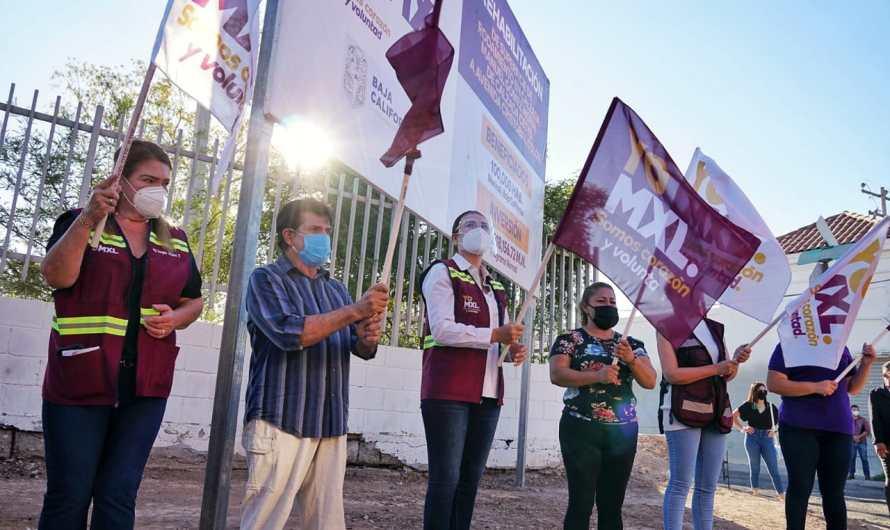 Invierte Ayuntamiento de Mexicali 14.6 MDP en pavimentación de Gómez Morín