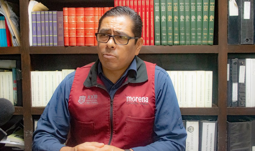 """""""Simulación total de pasadas legislaturas en el tema feminicidios"""", afirmó el diputado Juan Manuel Molina (MORENA)"""