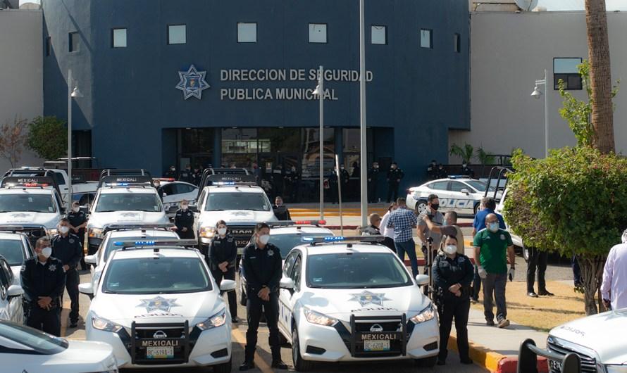 Entrega Marina del Pilar 60 patrullas para la Policía Municipal, son rentadas por un monto de 14 millones de pesos