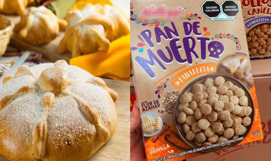 «Bread of the dead» Mexican gastronomic traidition, now available as a breakfast cereal flavor